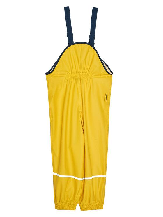 Playshoes Playshoes Spodnie przeciwdeszczowe 405424 D Żółty Regular Fit