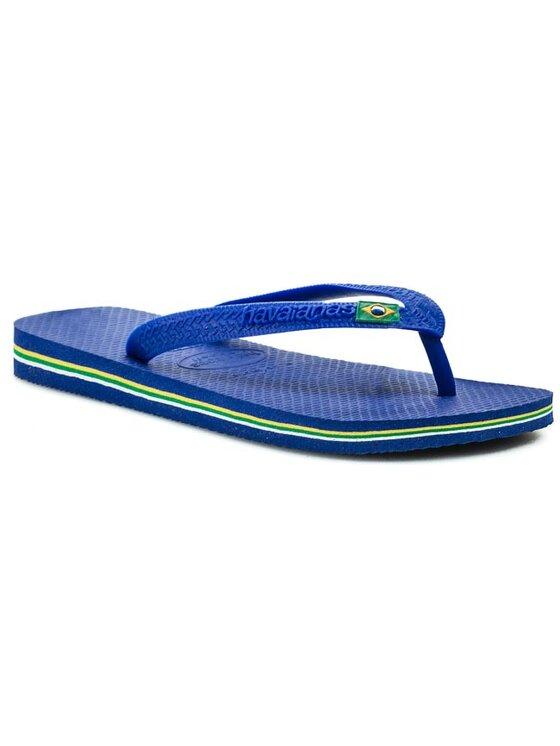Havaianas Šlepetės per pirštą Brasil 40000322711 Mėlyna