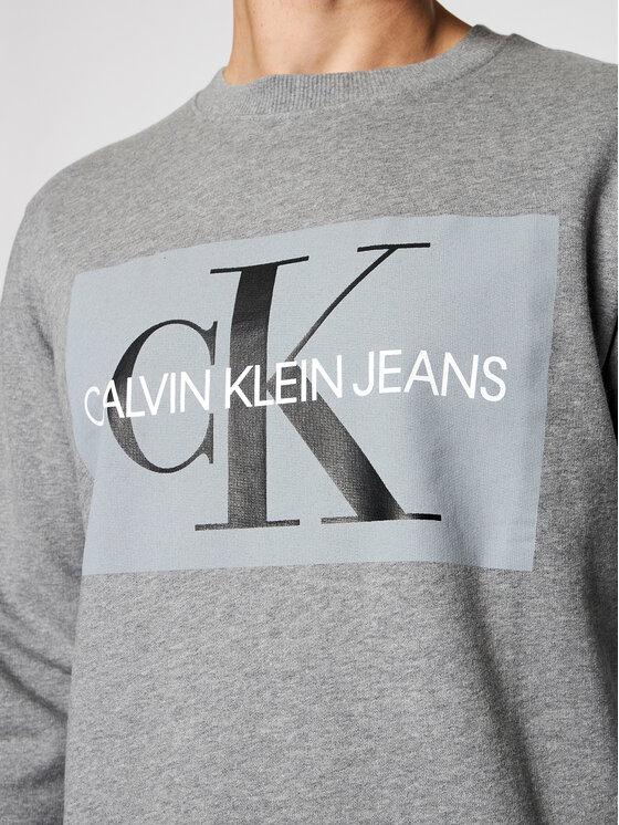 Calvin Klein Jeans Calvin Klein Jeans Pulóver J30J307742 Szürke Regular Fit