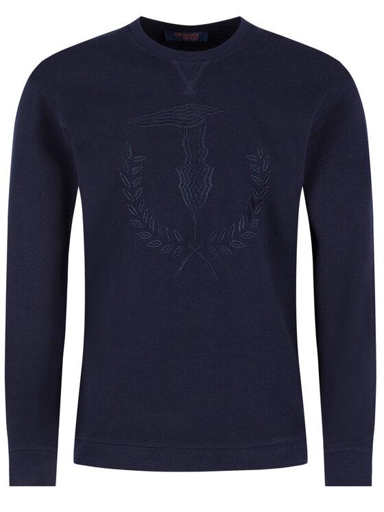 Trussardi Jeans Trussardi Jeans Pulóver 52F00112 Sötétkék Regular Fit