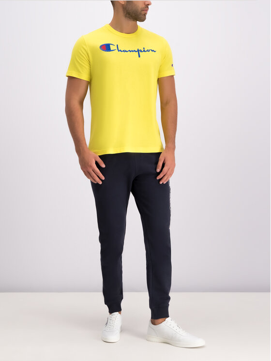 Champion Champion Παντελόνι φόρμας 212943 Σκούρο μπλε Regular Fit