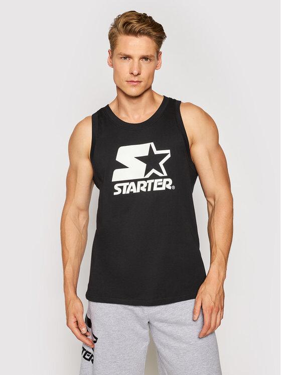 Starter Tank top marškinėliai SMG-016-BD Juoda Regular Fit