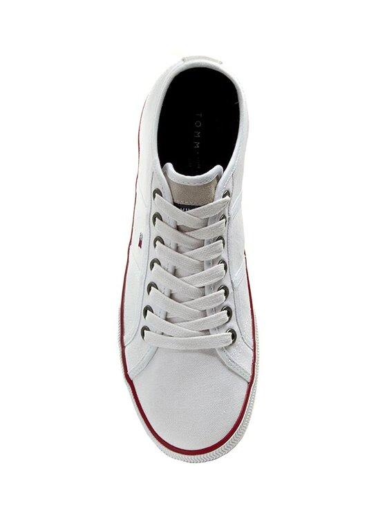Tommy Hilfiger Tommy Hilfiger Sneakers aus Stoff Vantage 2D FM56819047 Weiß