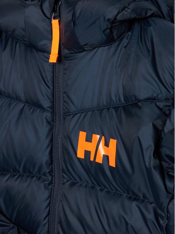 Helly Hansen Helly Hansen Kurtka puchowa Junior Isf Jord Down Mix 41612 Granatowy Regular Fit
