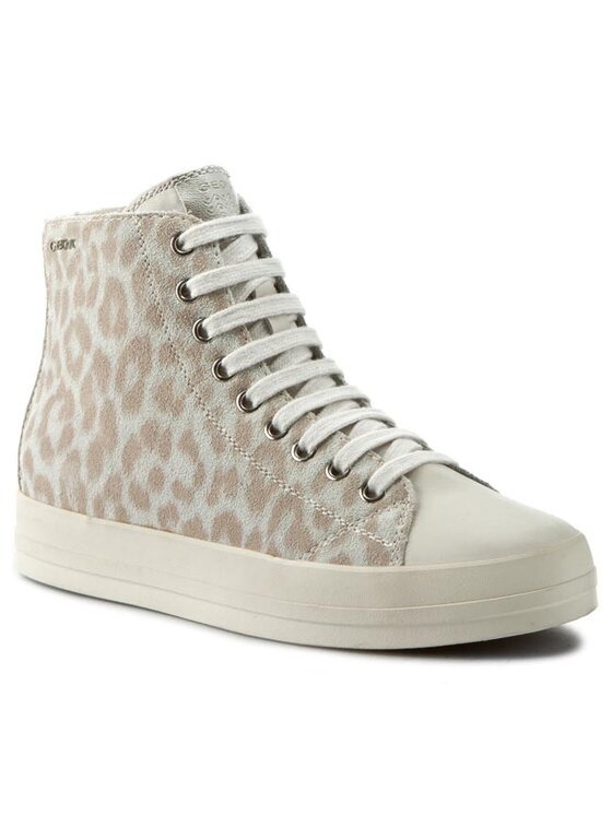 Geox Geox Sneakersy D Hidence A D4234A 0TKCL C1002 Beżowy