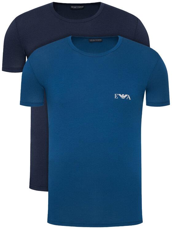 Emporio Armani Underwear 2 marškinėlių komplektas 111670 1P715 75835 Spalvota Slim Fit