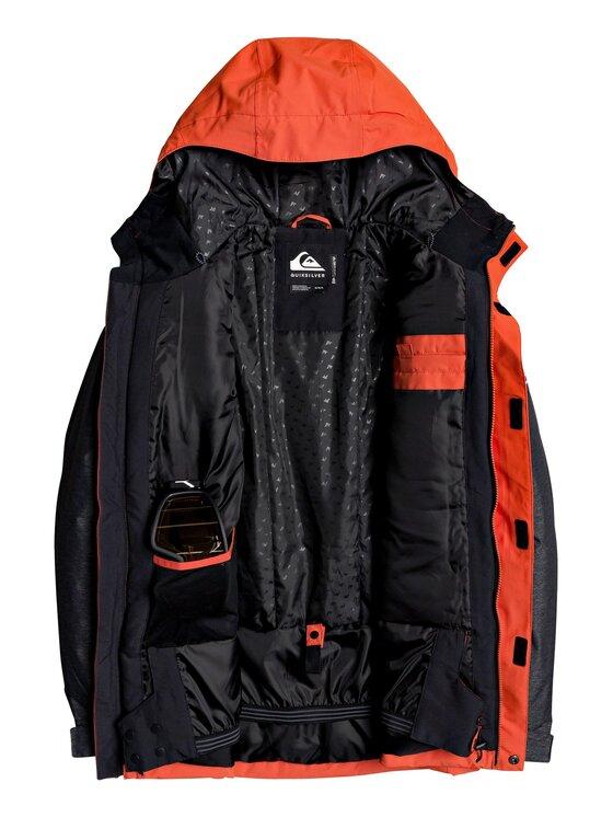 Quiksilver Quiksilver Μπουφάν για snowboard Mission EQYTJ03221 Πορτοκαλί Modern Fit