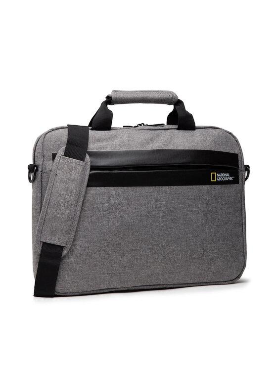 National Geographic Nešiojamo kompiuterio krepšys Brief Case N13106.22 Pilka