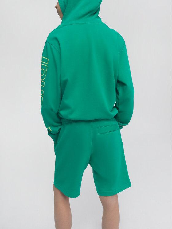 Sprandi Sprandi Szorty sportowe SS21-SHB001 Zielony Regular Fit