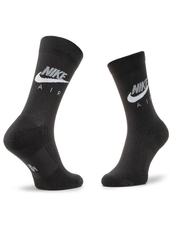 NIKE NIKE Sada 2 párů pánských vysokých ponožek CK5609 904 Černá