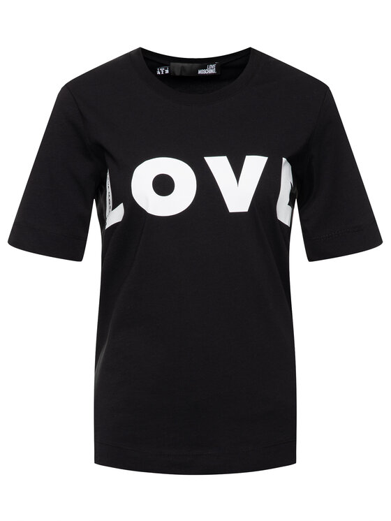 LOVE MOSCHINO LOVE MOSCHINO Тишърт W4F151VM 3517 Regular Fit