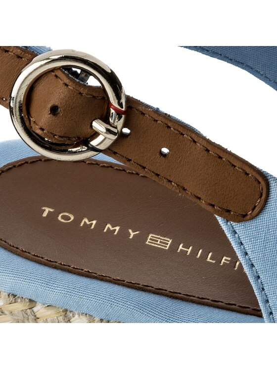 TOMMY HILFIGER TOMMY HILFIGER Еспадрили Iconic Elba Basic Sling Back FW0FW02788 Син
