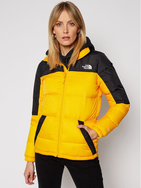 The North Face The North Face Kurtka puchowa W Diablo NF0A4SVKZU3 Żółty Regular Fit
