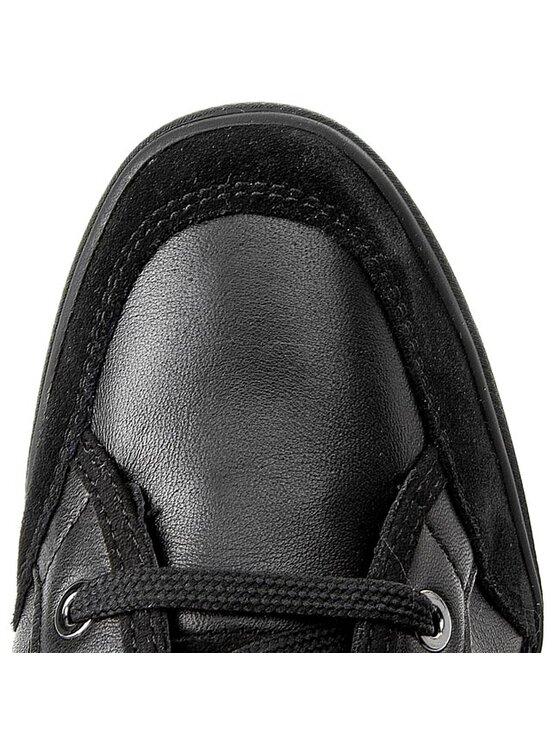Geox Geox Sneakersy D Eleni D D5467D 04322 C9999 Čierna