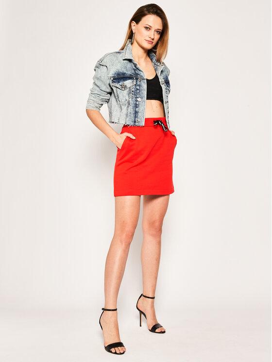 Calvin Klein Jeans Calvin Klein Jeans Mini sijonas Terry J20J213611 Raudona Regular Fit