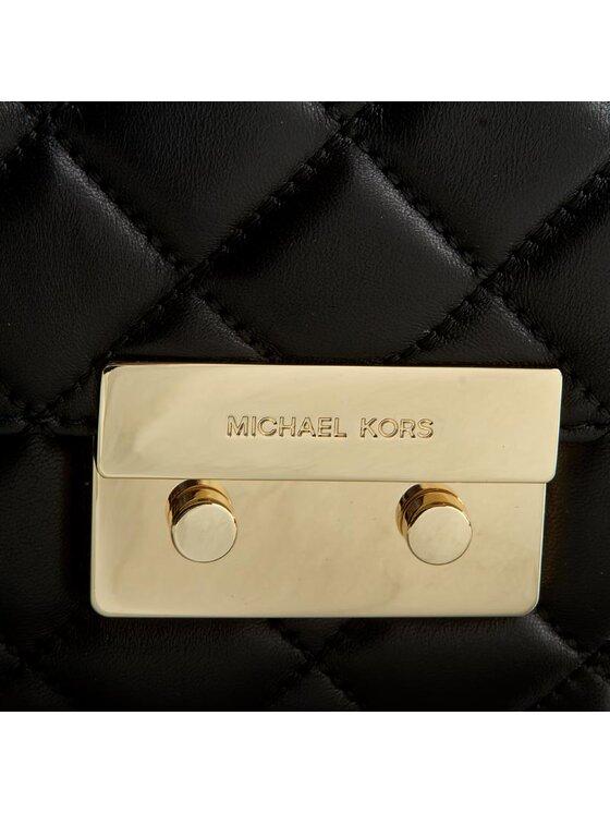 Michael Kors Michael Kors Handtasche Sloan 30T6GSLL4L Schwarz