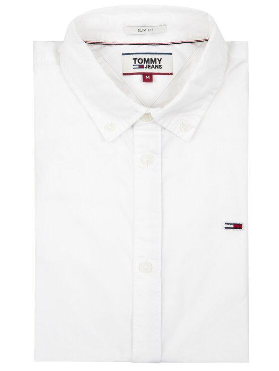 Tommy Jeans Tommy Jeans Košile Tjw Light Twill DM0DM07504 Bílá Slim Fit