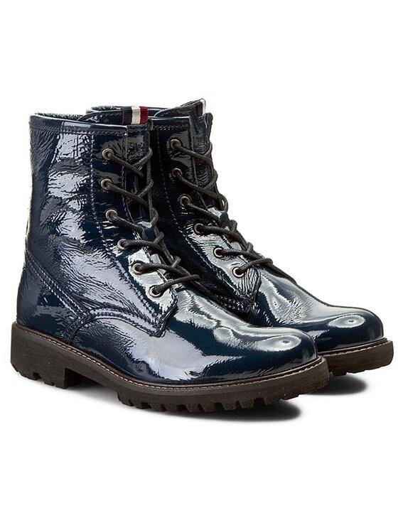 Tommy Hilfiger Tommy Hilfiger Ορειβατικά παπούτσια DENIM Bedford 5P EN56819913 Σκούρο μπλε