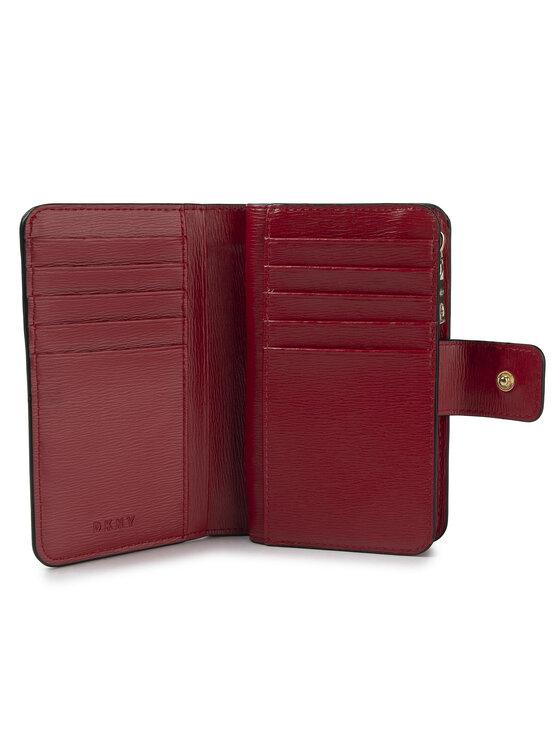 DKNY DKNY Duży Portfel Damski Bryant Sm Carryall S R8313659 Czerwony