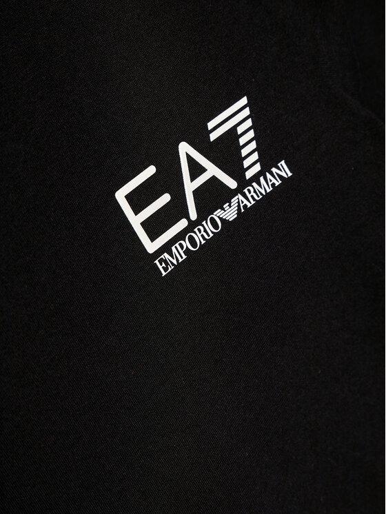 EA7 Emporio Armani EA7 Emporio Armani Bluzka 6HBT52 BJ02Z 1200 Czarny Regular Fit
