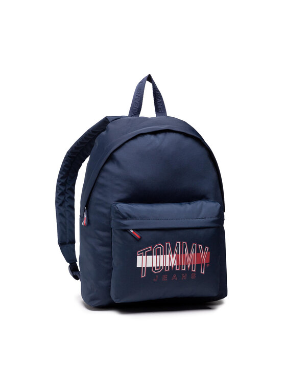 Tommy Jeans Tommy Jeans Plecak Tjm Campus Graphic Backpack AM0AM07506C87 Granatowy