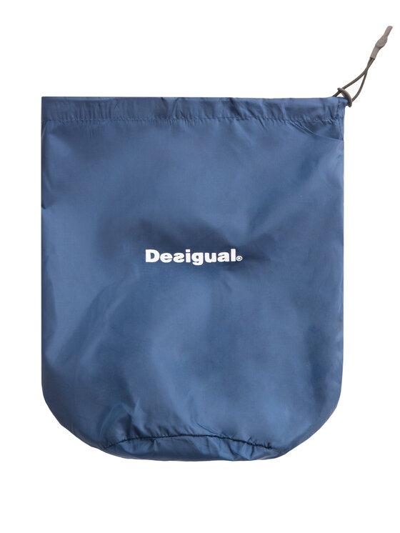 Desigual Desigual Пухено яке Padded Arty 19WOEW03 Цветен Regular Fit