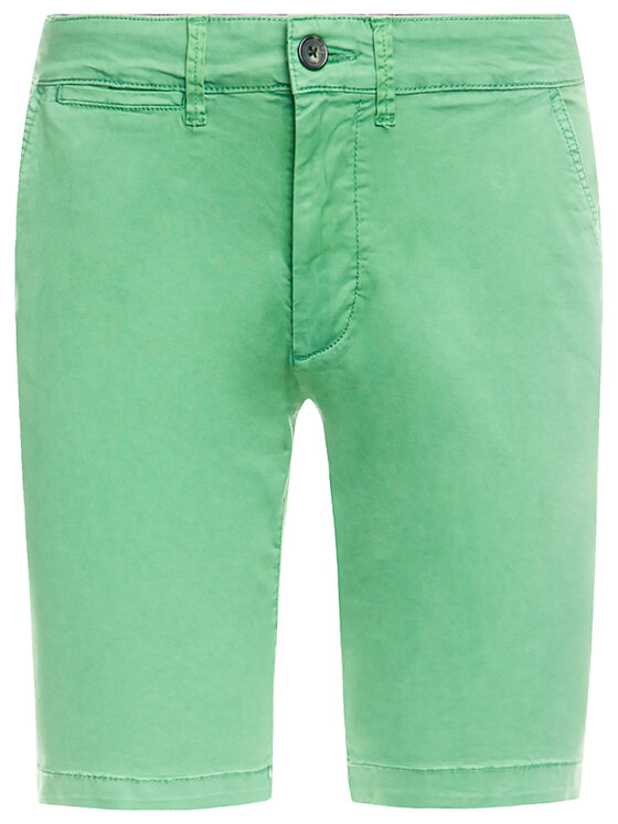 Pepe Jeans Pepe Jeans Stoffshorts Mc Queen PM800227C75 Grün Regular Fit