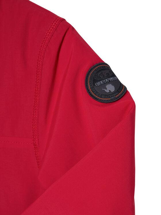 Napapijri Napapijri Átmeneti kabát Rainforest NP0A4EPL S Piros Regular Fit