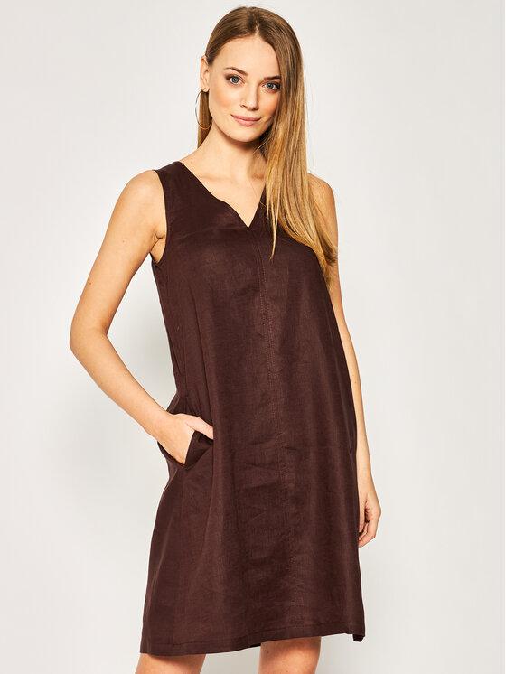 Pennyblack Kasdieninė suknelė Maori 22210520 Ruda Regular Fit