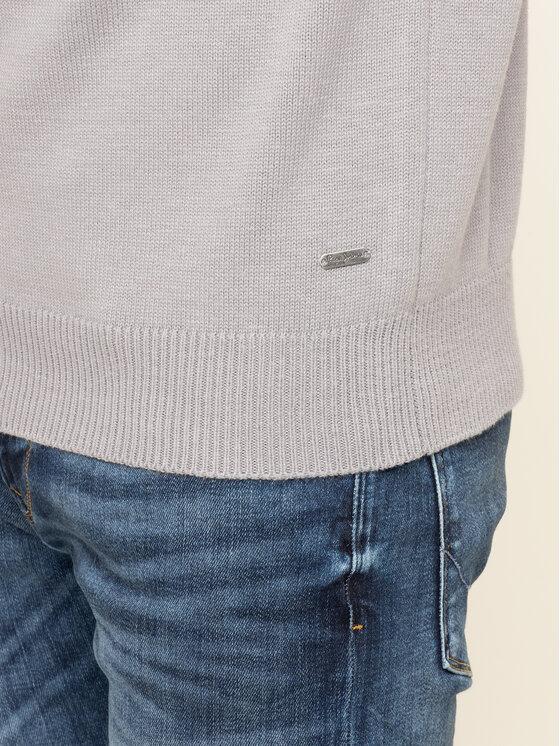 Pepe Jeans Pepe Jeans Sveter Gabriel PM701973 Sivá Regular Fit