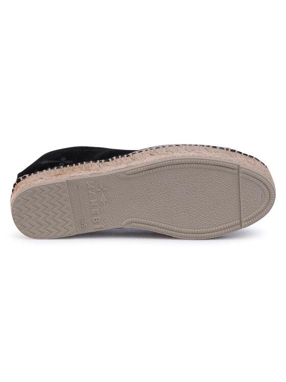 Manebi Manebi Espadryle Slippers W K 1.0 N0 Czarny