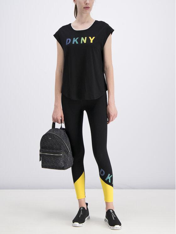 DKNY Sport DKNY Sport Legginsy DP9P1820 Czarny Slim Fit
