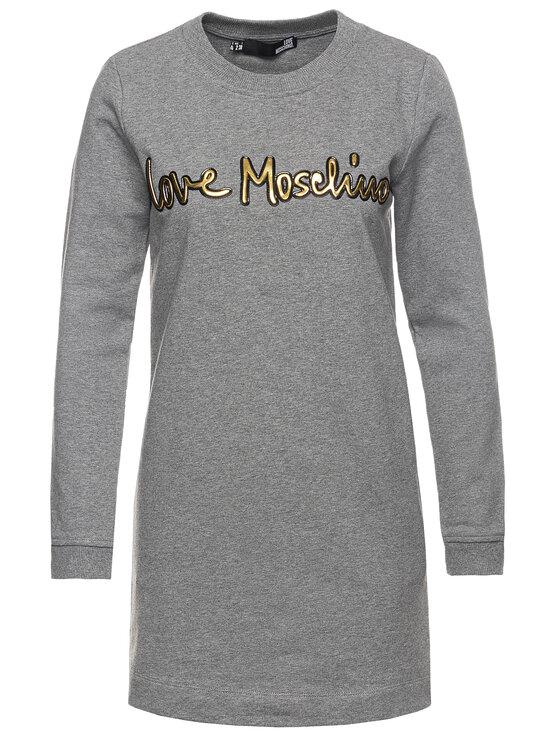 LOVE MOSCHINO LOVE MOSCHINO Každodenné šaty W584709M 4068 Slim Fit