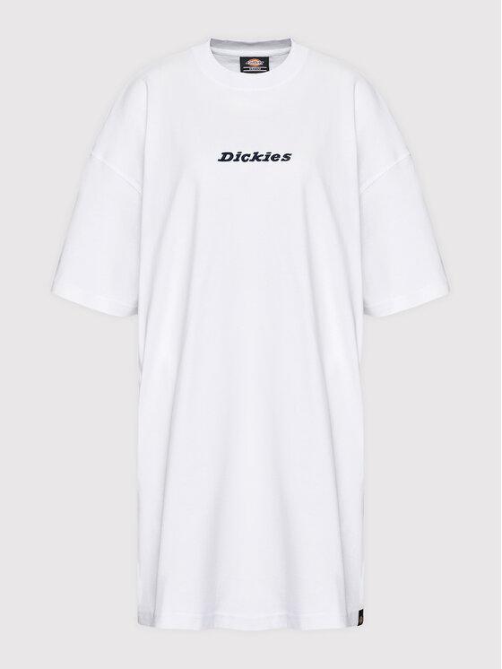 Dickies Dickies Haljina za svaki dan Loretto Bijela Regular Fit