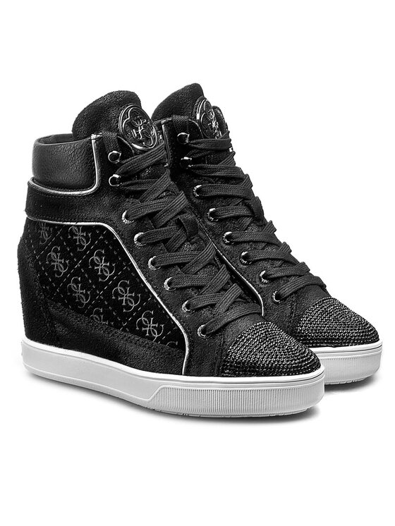 Guess Guess Sneakers Furr FLFUR4 SUP12 Schwarz