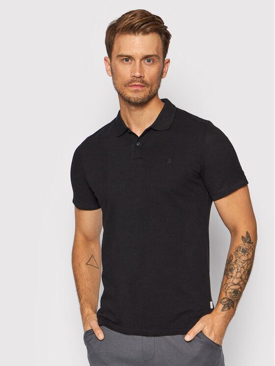 Jack&Jones 2 polo marškinėlių komplektas Basic 12191215 Tamsiai mėlyna Regular Fit