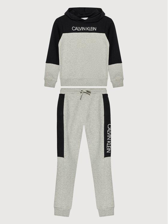 Calvin Klein Jeans Calvin Klein Jeans Dres Clr Block IB0IB00952 Szary Regular Fit