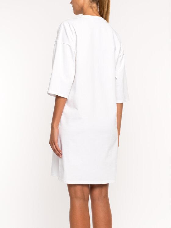 DKNY DKNY Ежедневна рокля P9DD9BOB Бял Regular Fit
