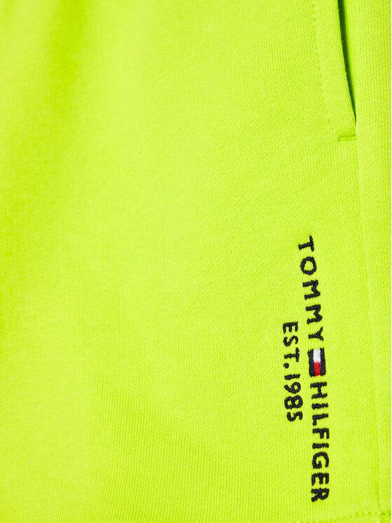 Tommy Hilfiger Tommy Hilfiger Szorty sportowe Essential KB0KB05671 D Zielony Regular Fit