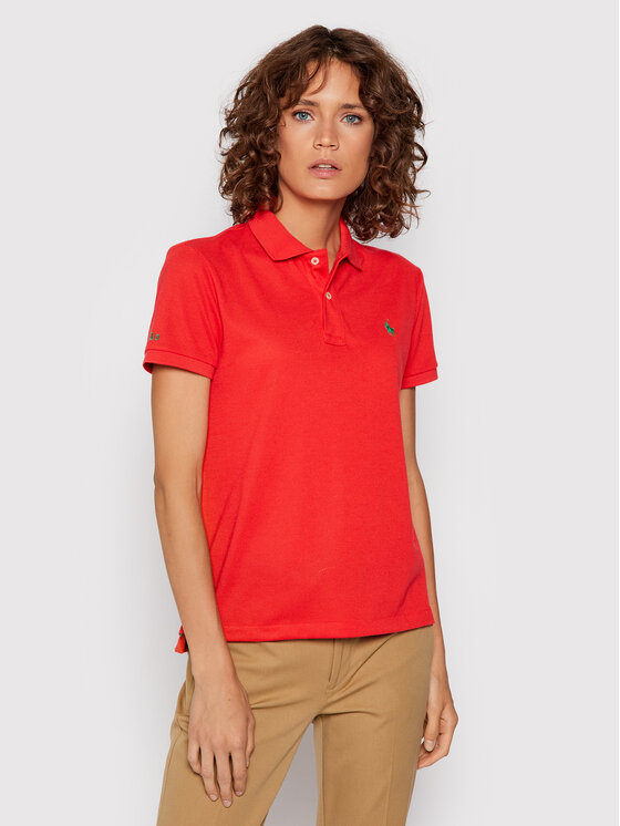 Polo Ralph Lauren Polo Ralph Lauren Polo 211806666011 Czerwony Classic Fit