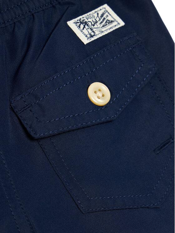 Polo Ralph Lauren Polo Ralph Lauren Szorty kąpielowe Traveler Sho 323785582004 Granatowy Regular Fit