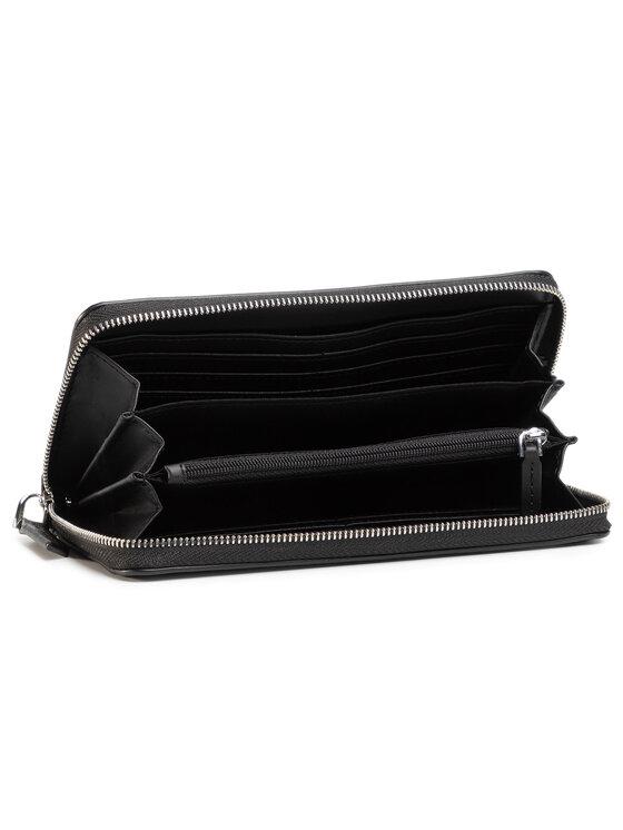 Calvin Klein Calvin Klein Duży Portfel Damski Re-Lock Ziparound Wallet Lg K60K606362 Czarny