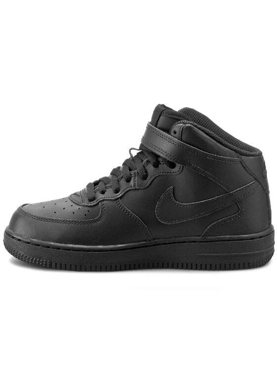 Nike Nike Παπούτσια Force 1 Mid (PS) 314196 004 Μαύρο