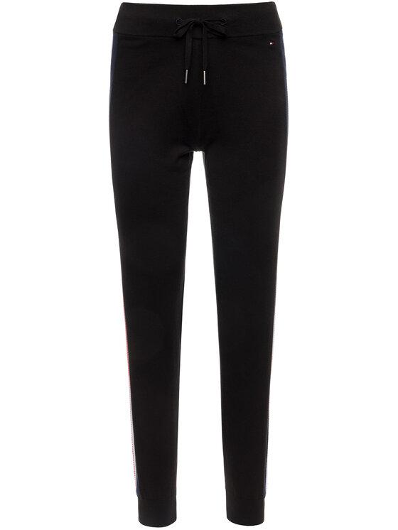 Tommy Hilfiger Tommy Hilfiger Spodnie dresowe Maisy WW0WW25813 Czarny Regular Fit
