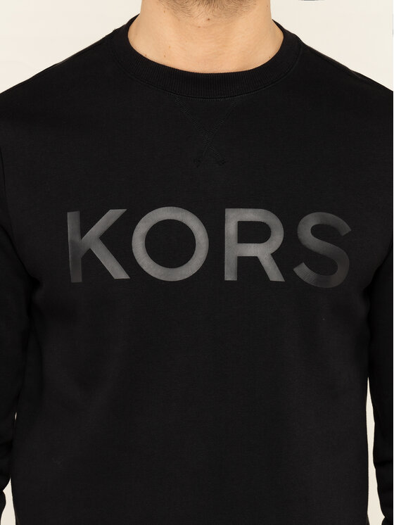 MICHAEL Michael Kors MICHAEL Michael Kors Bluza CR95HXF7TE Czarny Regular Fit