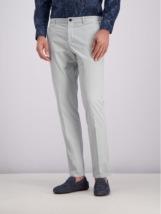 Tommy Hilfiger Tailored Tommy Hilfiger Tailored Pantaloni di tessuto TT0TT05458 Grigio Slim Fit