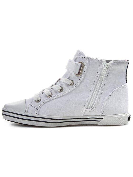 Tommy Hilfiger Tommy Hilfiger Sneakers aus Stoff Slater 5D FG56819043 Weiß
