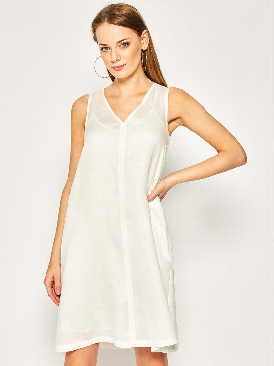 Pennyblack Kasdieninė suknelė Maori 22210520 Balta Regular Fit