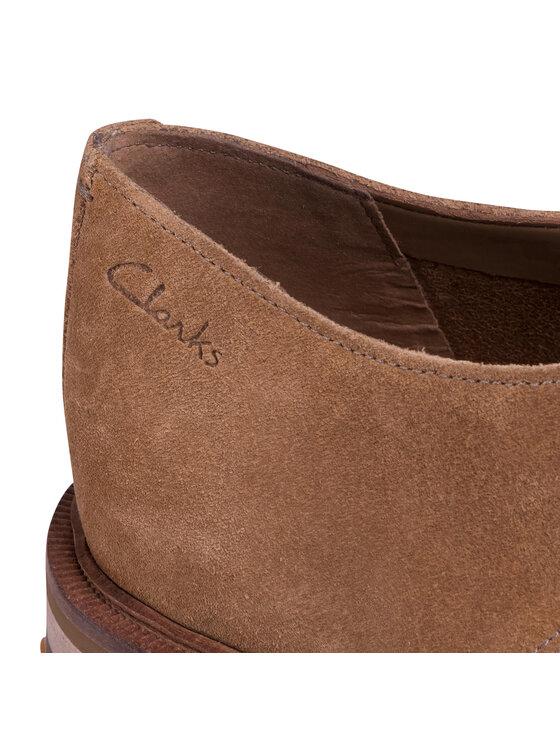 Clarks Clarks Półbuty Foxwell Hall 261480067 Brązowy