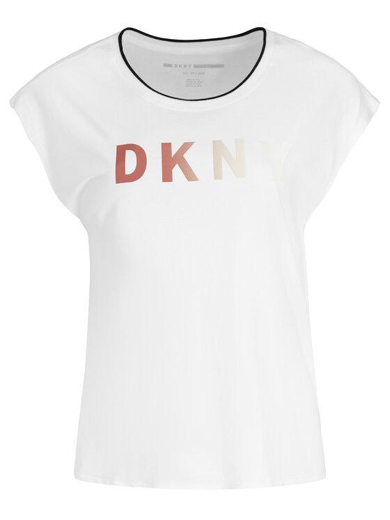 DKNY Sport DKNY Sport Тишърт DP9T6531 Бял Regular Fit
